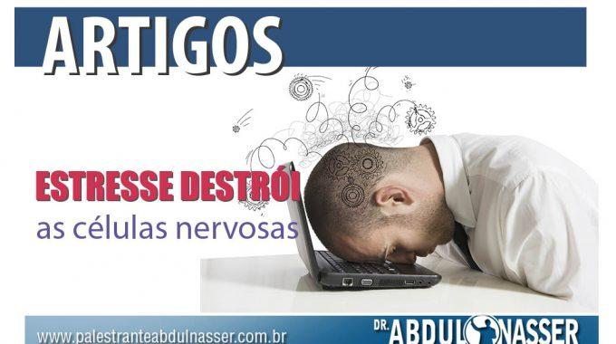 Estresse Destrói As Células Nervosas