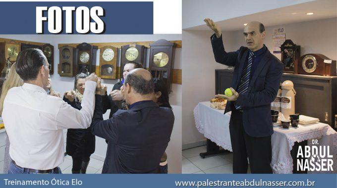 Dr. Abdul Nasser Realizou Treinamento Nas Óticas Elo