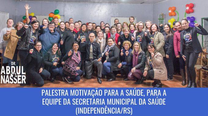 Palestra Motivação Para A Saúde Aconteceu No Dia 24/5